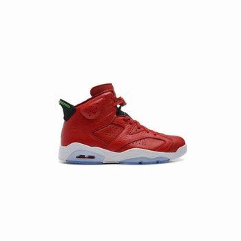da795a3c2a7 Authentic 694091-625 Air Jordan 6 Retro Varsity Red/Classic Green-Black-