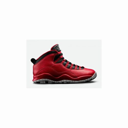new products f0ca5 6ef0f Authentic 705178-601 Air Jordan 10 Retro Gym Red/Black-Wolf ...