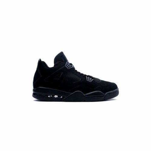 efecddf258ea07 308497-002 Air Jordan 4 Retro Womens Black Cat A24010